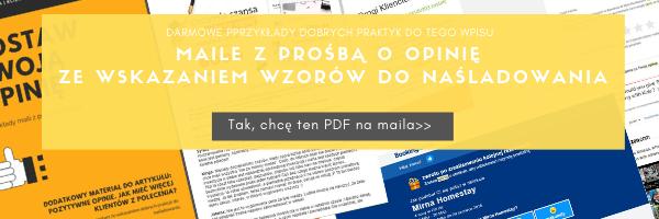 jak zdobywac pozytywne opinie darmowy pdf do ściągnięcia